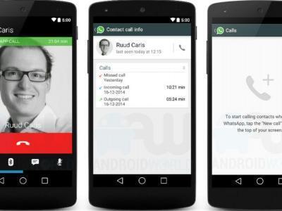 WhatsApp Sesli Arama Özelliği